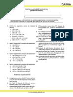 Practica Calificada de Matemática-Inglés