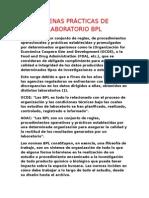 Buenas Prácticas de Laboratorio (1)