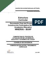 Estructura Curricular Universidad de Puebla
