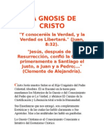 La Gnosis de Cristo