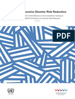 UN Sector Brief on Gender Responsive DRR
