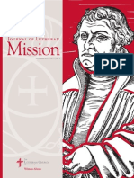 The Journal of Lutheran Mission | September 2015