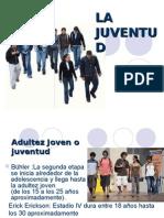 De La Adolescencia a La Juventud