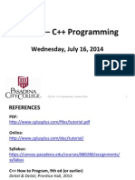 C++ Lecture -