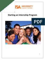 Starting Intern Program