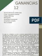 IMPUESTO A LAS            GANANCIAS - NIC 12.pptx