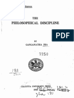 Philosophical Disipline