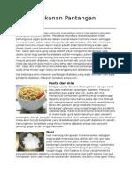 Daftar Makanan Pantangan Diabetes