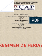 Diapositivas de Regimenes de Feria