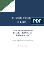 ESTRADA 2015 Leyes de Protección Del Niño en Latinoamérica
