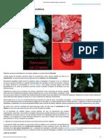 Crecimiento de Cristales Decorativos - ExperCiencia