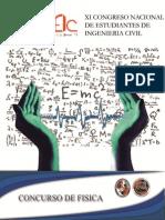 Concurso de Fisica Coneic Potosi 2015