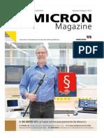 OMICRON Magazine Volumen 6 Número 1 2015