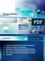 Chemical Kinetics - Lecture