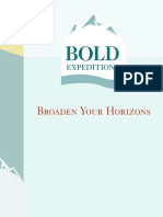 Bold Expeditions LiveBook