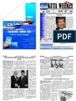 "Kuta Weekly-Edition 172 ""Bali""s Premier Weekly Newspaper"""