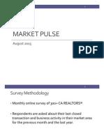 Market Pulse, August 2015