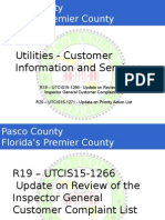 Pasco Utilities presentation