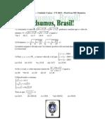 Adsumus Dominical 3 Extra Gabarito