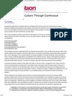 Enabling a Data Culture Through Continuous Improvement _ Information Management Online