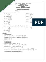 218778 Lista.derivadas.aplicacoes.calculo1