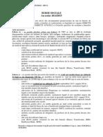 Documentatia Necesara Pentru Burse Bani de Liceu Rechizite- An Scolar 2014-2015
