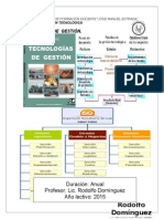 Planificacion Tecnología de Gestión