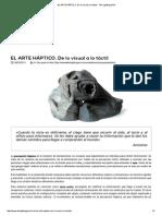 EL ARTE HÁPTICO.pdf