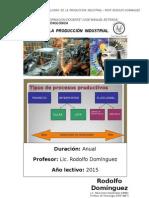 Planif Tecnolog Produc Industr
