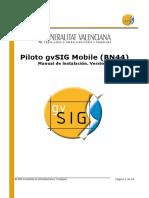 GvSIG Mobile Pilot