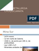 Hidrometalurgia Chuquicamata