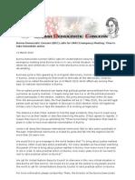 Burma Democratic Concern (BDC) Calls for UNSC