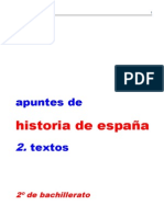 Historia de España Textos