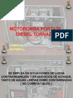 Motobomba Diesel Tornado