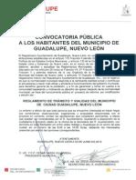 Convocatorias Reglamento Transito Vialidad 03 Junio 2014