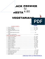 Cena Vegetariana 7 Junio 2015