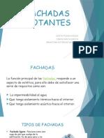 FACHADAS FLOTANTES