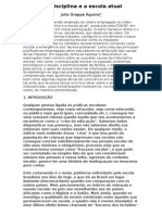 A indisciplina e a escola atual Júlio Groppa.doc