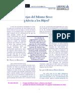 LyD - Parejas Del Mismo Sexo - Afecta a Los Hijos 16-04-2004