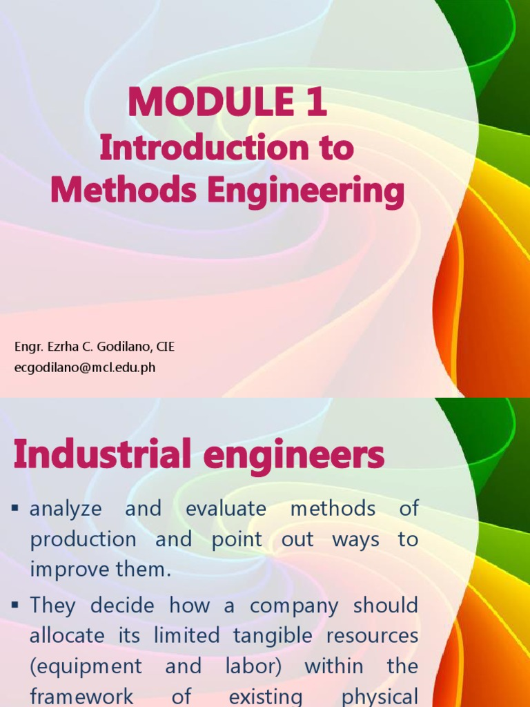 methods standards and work design introduction Niebel's methods, standards, & work design by andris freivalds, 9780073376363, available at book depository with free delivery worldwide.