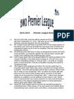 premier league rules