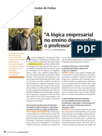 Entrevista Luiz Calos de Freitas