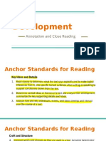 staff development annotation