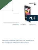 Manual de Instruções Alcatel One Touch Star
