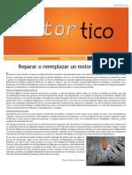 2014 NOV - Reparar o Reemplazar Un Motor Electrico