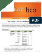 2014 DIC - Tipos de Recintos en Motores Electricos