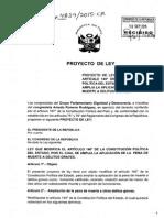 Bancada DyD presenta proyecto para ampliar la pena de muerte