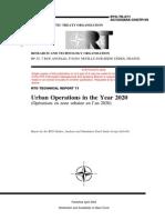 Nato Urban Warfare