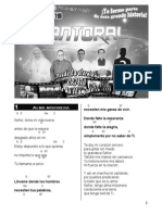Cantoral Pre Seminario Etapa III 2015