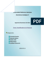 Trabajo Electrónica Analógica II cap 14